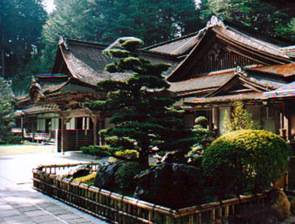 Temple on Mt Koya