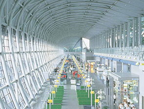 Kansai International Airport Lobby