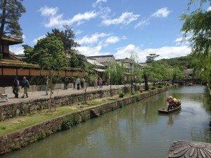 Bikan District Canal in Kurashiki