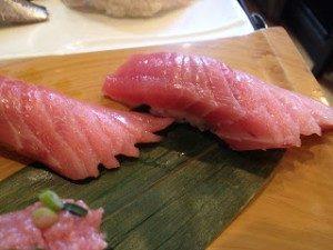 Sushi in Tsukiji Market