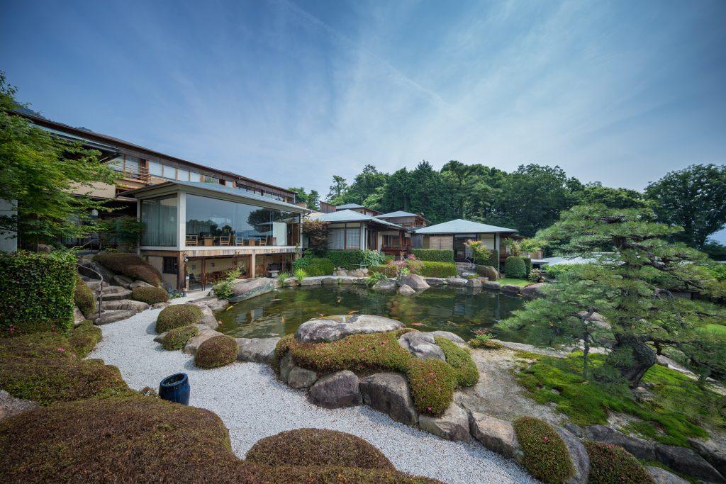 Japanese Garden at Sekitei near Hiroshima