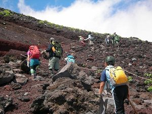 Climbing Mt Fuji in Japan, RediscoverTours.com