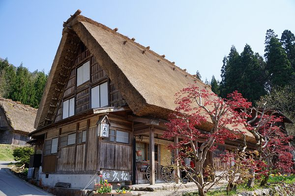 Hisamatsu minshuku in Shirakawa-go